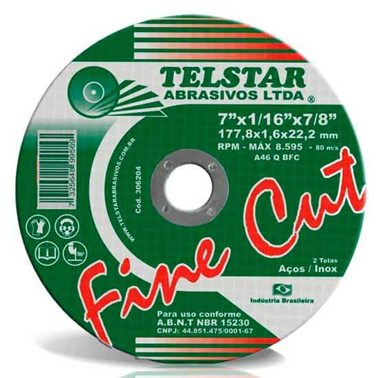 Disco Fine Cut <br> Tel Star